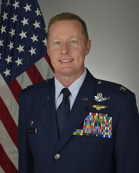 Col. Frank Bradfield III, 919th SOW commander